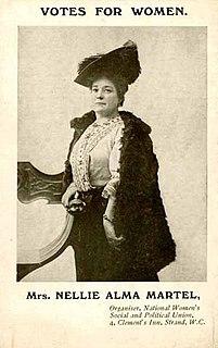 Nellie Martel Australian suffragist