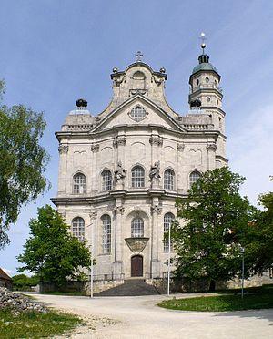 Neresheim Abbey - Image: Neresheim Abteikirche