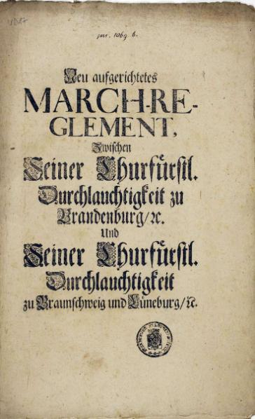 File:Neu aufgerichtetes March-Reglement-1697.djvu