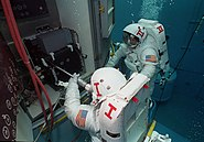 Neutral Buoyancy Simulator Hubble WFPC replacement
