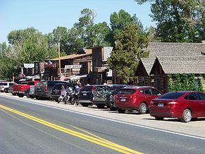 Nevada City, Montana - Nevada City, Montana as seen from the highway.