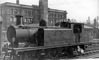 LB&SCR E3 class class of 17 two-cylinder 0-6-2T locomotives