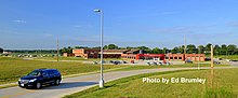 New Lawrenceville High School located in Lawrenceville Illinois.JPG