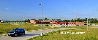 Lawrenceville High School - 2013 high school on west side of Lawrenceville