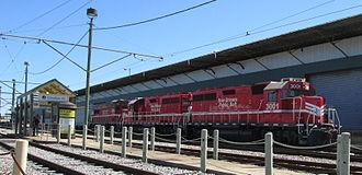 New Orleans Public Belt Railroad - New Orleans Public Belt locomotive, 2013