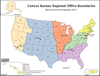 Post-2013 Census Bureau Regions