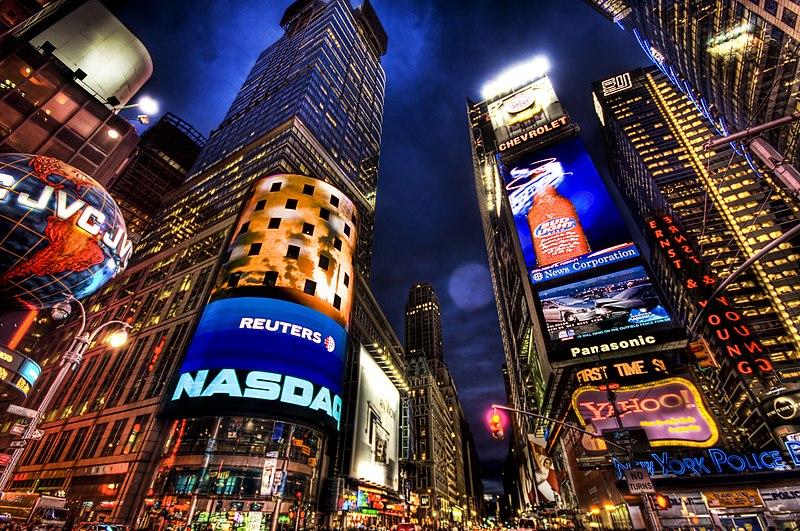 File:New York City by night.jpg