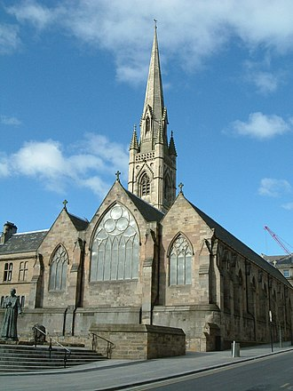 St Mary's Cathedral, Newcastle upon Tyne - Image: Newcastle RC