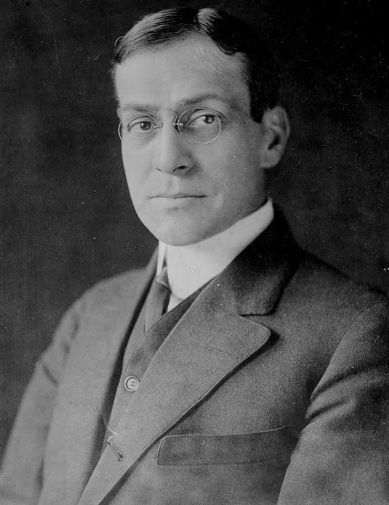 Newton Baker, Bain bw photo portrait.jpg