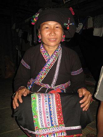 Lu people - Image: Người Lự ở Lai Châu