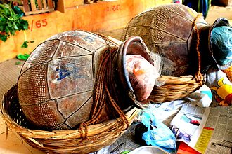 Fermented fish - Image: Ngari aka fermented fish