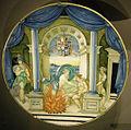 Ngv, nicola da urbino, piatto con giove e semele, 1524 circa.JPG