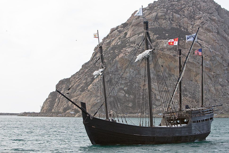 Niña replica - Morro Bay CA