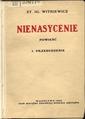 Nienasycenie Przebudzenie (first edition) (cover).tif