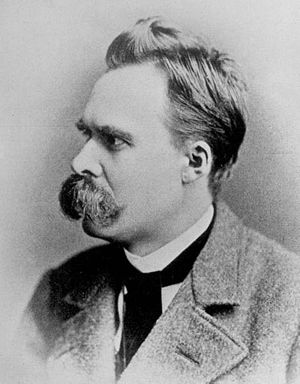 English: German philosopher Friedrich Nietzsch...