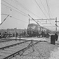 Nieuwe spoorburg over de Maas bij Venlo in gebruik genomen de trein met genodigd, Bestanddeelnr 916-4648.jpg