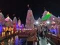 Night View of Nilkanth Dham Poicha Gujarat 4.jpg