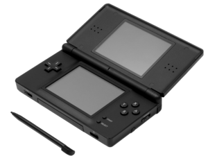 Stylus (computing) - Image: Nintendo DS Lite w stylus