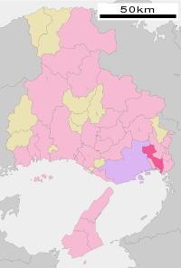 Nishinomiya in Hyogo Prefecture Ja.svg