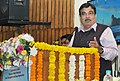 Nitin Gadkari addressing at the inauguration of the one day conference on Command Area Development, in New Delhi.jpg