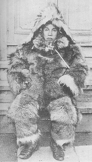 Japanese Antarctic Expedition -  Lt Nobu Shirase, leader of the Japanese Antarctic Expedition