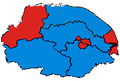 NorfolkParliamentaryConstituency1997Results.png