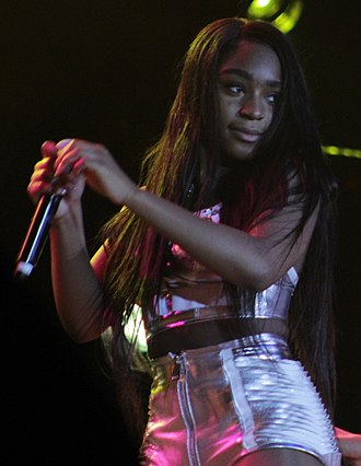 Normani - Normani performing at the Los Angeles County Fair, September 2017