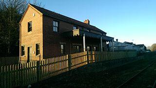 North Elmham railway station disused railway stationin Norfolk, UK