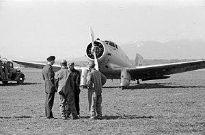 Northrop Delta - Canadian Northrop Delta in 1939