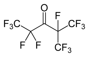 Novec 1230 - Image: Novec 1230 2D skeletal