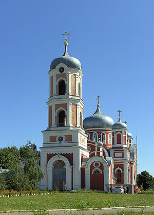 Novoanninsky (town) - Church in Novoanninsky