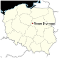 Nowe Bronowo location map.png