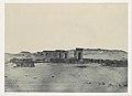 Nubie. Temple et Village de Débôd. Parembole de l'itinéraire d'Antonin MET DP116189.jpg