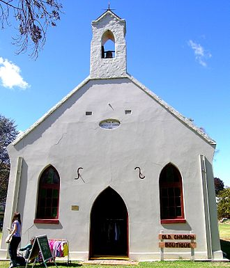 Nundle, New South Wales - The Primitive Methodist Church built in 1882