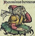 Nuremberg chronicles f 241v 2 Jheronimus heriticus.jpg