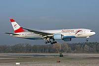 OE-LPD - B772 - Austrian Airlines