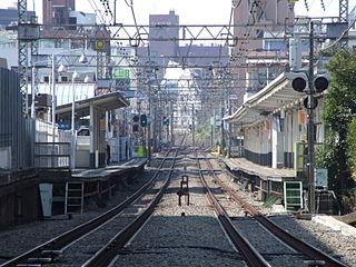 Minami-Shinjuku Station Railway station in Tokyo, Japan