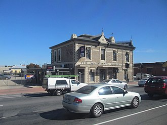 Bob Quinn (Australian footballer) - After retiring from football Bob Quinn became a publican. Pictured is the Southwark Hotel which was one of the pubs he operated later in life.