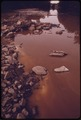 OLENTANGY RIVER WAS POLLUTED JUNE 20, 1974, WHEN FIRE AND EXPLOSIONS DESTROYED A PENNWALT CORPORATION CHEMICAL... - NARA - 555549.tif