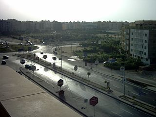 City in Giza, Egypt
