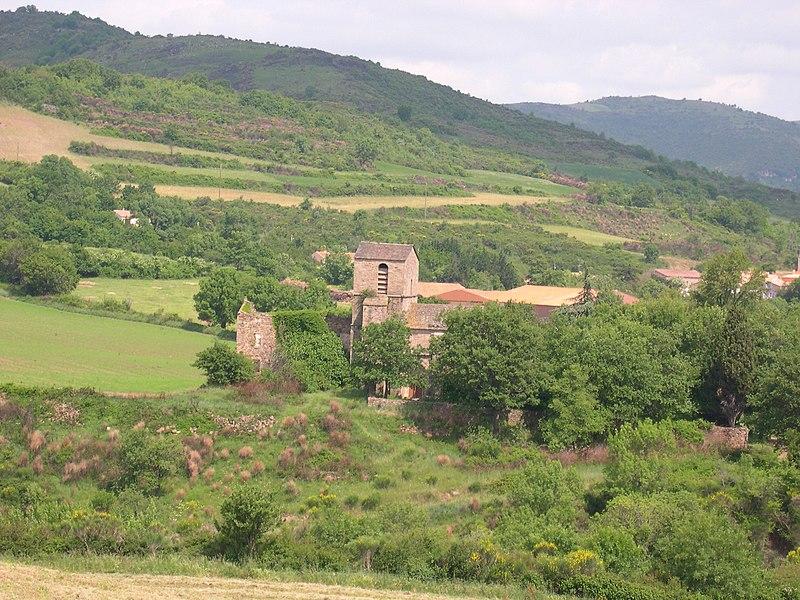 Octon (Hérault) - Notre Dame de Roubignac (église romane du XIIe siècle)