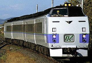 Sekihoku Main Line railway line in Hokkaido, Japan