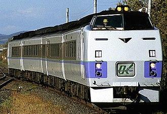 Sekihoku Main Line - Okhotsk limited express train from Sapporo to Abashiri