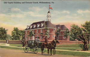 1705 in architecture - Image: Old Capitol Building Williamsburg