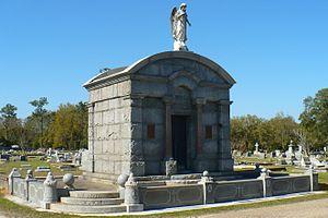 Catholic Cemetery (Mobile, Alabama) - Image: Old Catholic Cemetery 11