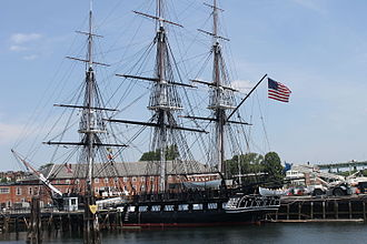Samuel Nicholson - Old Ironsides in Boston Harbor – 2014