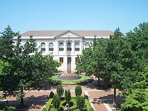 University of Arkansas - Vol Walker Hall contains the School of Architecture.