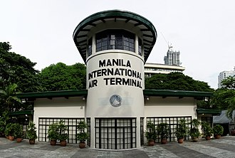 Ninoy Aquino International Airport - Old Nielson Field Terminal Tower.