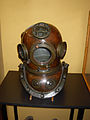 Old diving helmet -- Torre del Oro museum, Seville, Spain.jpg
