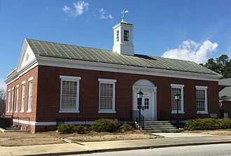 Louis A. Simon - This former US post office at the northwest corner of James and N. Main Streets in Mullins, South Carolina, was built in 1938 under Simon's direction. As of 2015, it is used by the neighboring Baptist church.